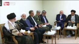 نظر قاطع رهبر انقلاب درباره مذاکره با آمریکا در حضور روحانی