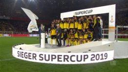 جشن قهرمانی دورتموند در سوپر کاپ آلمان