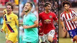 20 گل اول بازیکنان جدید تیم ها در فصل 20-2019