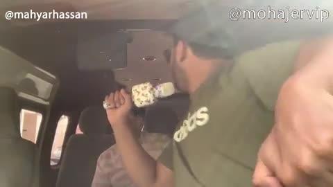 مهیار حسن - کنسرت ابی در یک ون !!!
