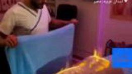 فیلم ماساژ آتشین برای تسکین دردهای عضلانی