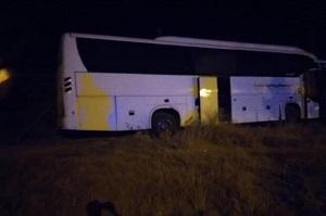 تصادف اتوبوس زائران ایرانی در استان واسط عراق با ۸ کشته و ۳۰ زخمی