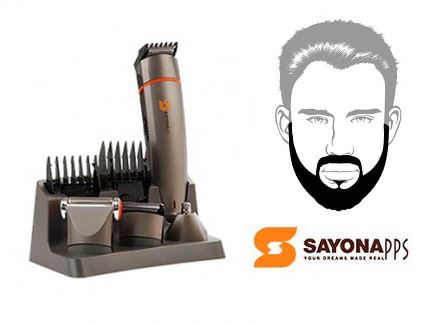 خرید ارزان ماشین اصلاح موی سر و صورت سایونا-sayona