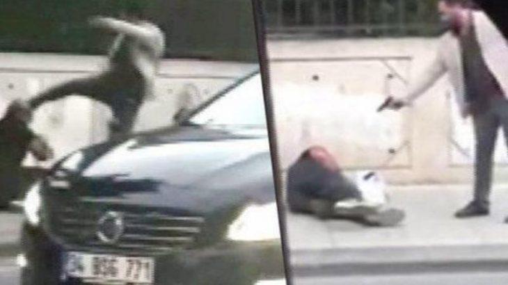 صحنه وحشتناک قتل در خیابان در روز روشن
