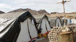 مرگ زن و مرد زلزله زده تبریزی در چادر نوزاد زنده ماند