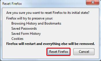 چگونه موزیلا فایرفاکس را ریست کنیم؟!