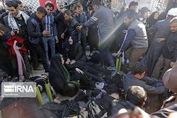 جان باختگان حادثه مراسم تشییع سردار سلیمانی