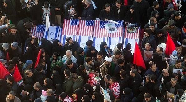 هدیه مردم تهران به سربازان آمریکایی (1)