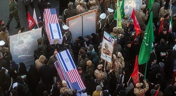 هدیه مردم تهران به سربازان آمریکایی
