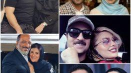 عکس لورفته بازیگران پایتخت بغل همسراشون 😍 کدوم زوج ؟ 😉