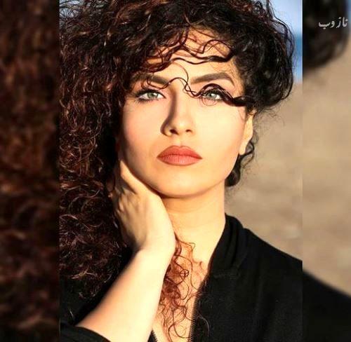 کشف حجاب بهارک صالح نیا بازیگر زن ایرانی