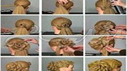 آموزش آرایش مو برای دختران