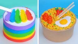 تزیین کیک های مناسب جشن تولد آموزش تزیین کیک زیبا